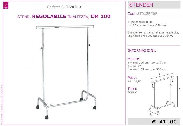 stender regolabile 100cm