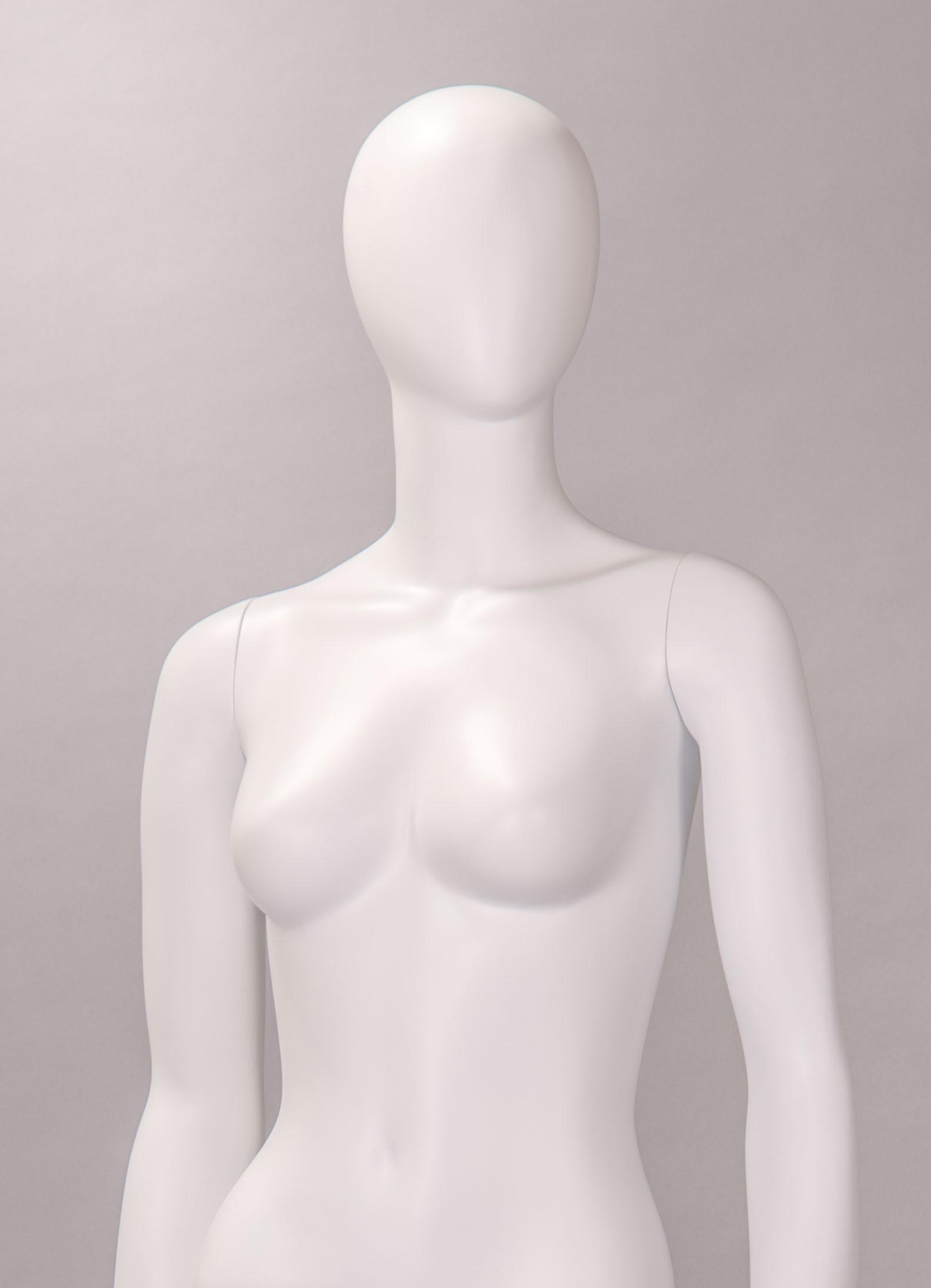 finitura opaca manichino donna stilizzato