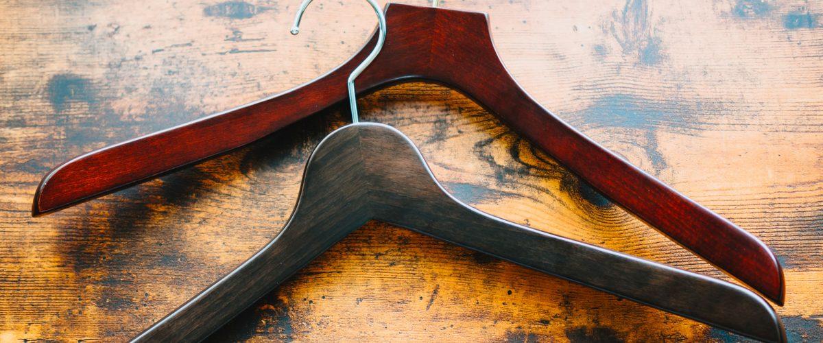 Grucce appendiabiti in legno