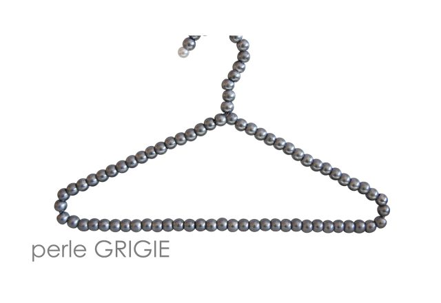 grucce perle grigie