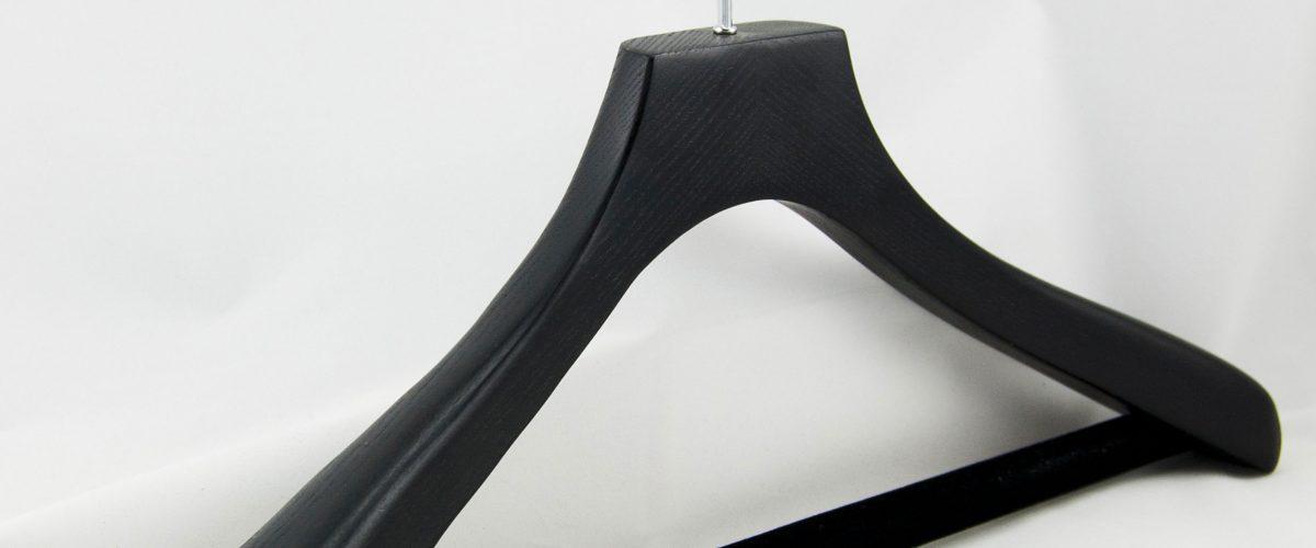 Gruccia plastica nera