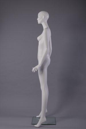 manichino donna stilizzato vista di lato