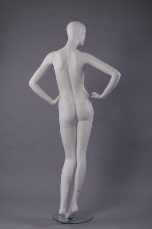 manichino donna stilizzata retro
