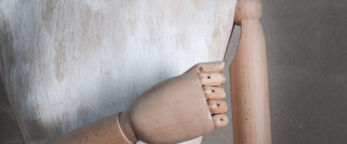 Manichino sartoriale cartapesta da donna