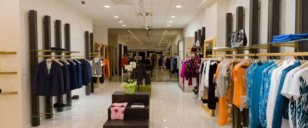 Negozio di abbigliamento e accessori donna