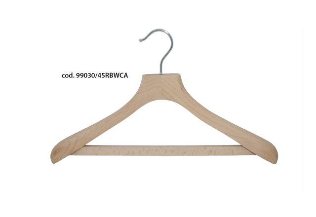 gruccia legno naturale