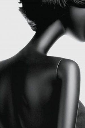 manichino donna stilizzato retro