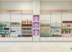 Scaffalature per farmacia