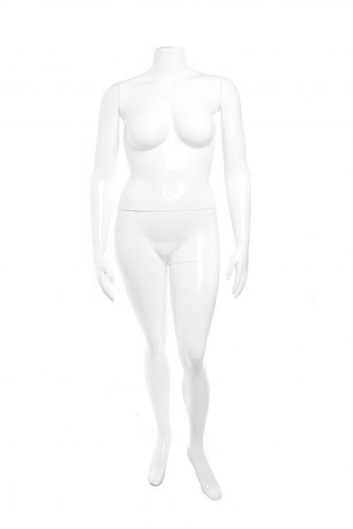 manichino donna conformata senza testa