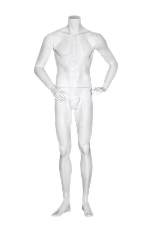 manichino uomo senza testa