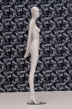 manichino donna saturn stilizzato laterale