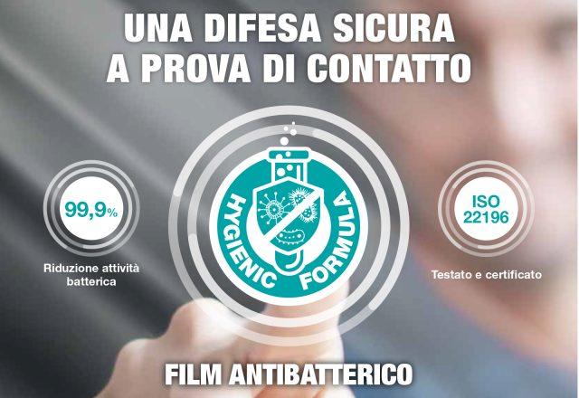 adesivo antibatterico film adesivo trasparente