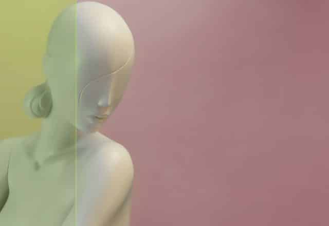 manichino stilizzato donna jey