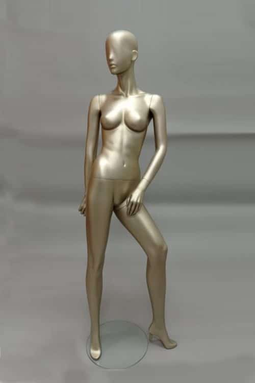 manichino donna gemini oro
