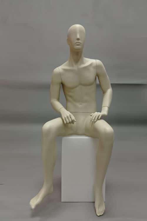 manichino uomo diamant seduto