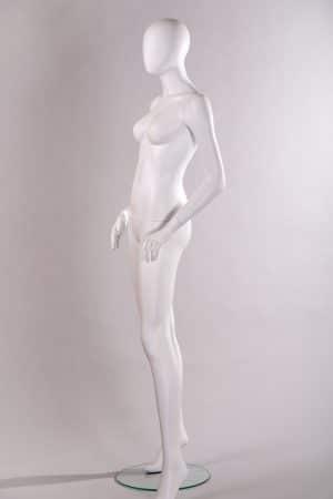 manichino donna bianco opaco
